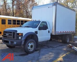 2008 Ford F550 XL Super Duty Box Truck