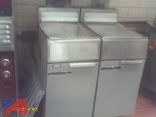 (2) Deep Fryers
