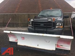 2004 Ford F250 Pickup with Plow