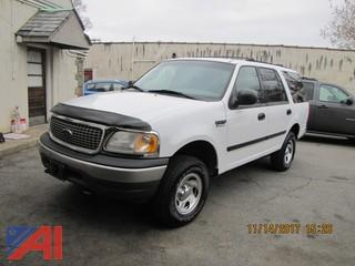 2001 Ford Expedition 4 Door