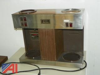 3 Burner Bunn Coffee Maker