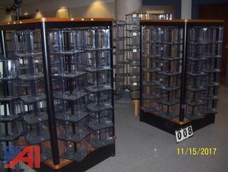 DVD Spinner Racks