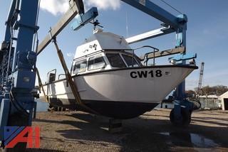 **Lot Updated** 1990 Munson 45' Boat