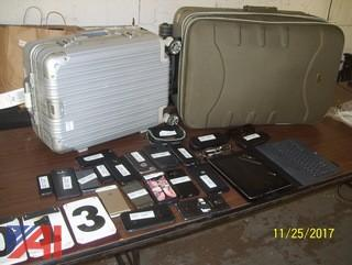 Ipad and Luggage with Contents and More