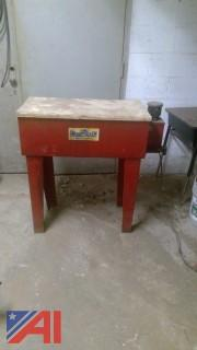 Machine Parts Washer with Pump