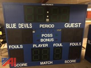 Daktronics Scoreboard
