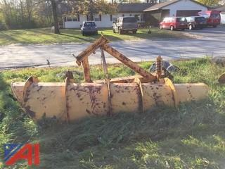 11' One Way Steel Plow