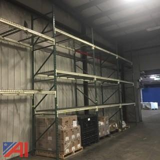 (9) Sections of Heavy Duty Pallet Racking