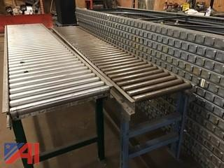(2) Roller Conveyors