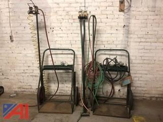 (2) Welding Carts