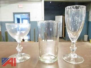 Miscellaneous Table Items and Glassware