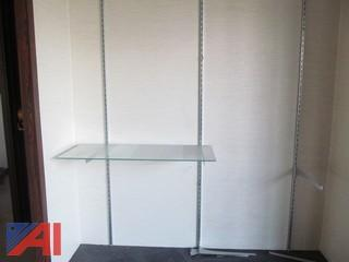 Display Cases-(2) Wall Mounted and (1) Free Standing
