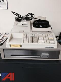 Cash Register and Typewriter