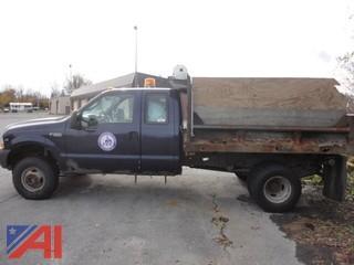 2003 Ford F350 XL Super Duty Dump Truck