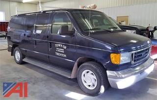 2003 Ford E150 XLT Van
