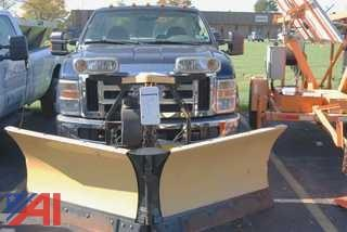 2010 Ford F250 Pickup with Plow