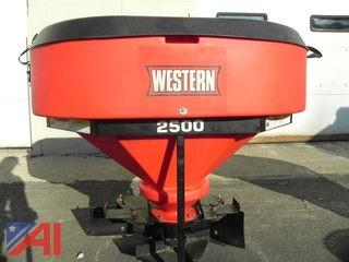 Western Low Profile 2500 Tailgate Salt Spreader
