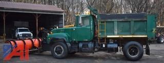 1999 Mack RD690P Dump w/ Plow & Wing