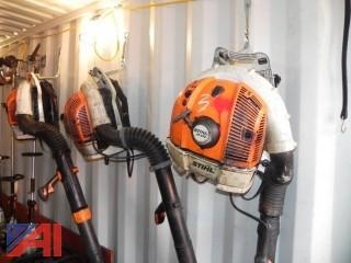 (3) Stihl Blowers