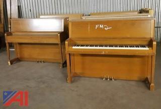 Assorted Upright Pianos
