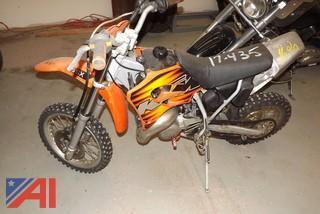 1999 KTM 65S Dirtbike