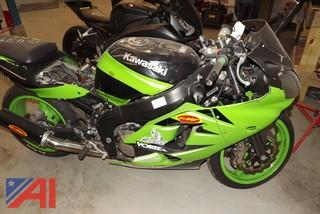 2000 Kawasaki ZX600 Motorcycle