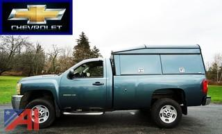 2011 Chevy Silverado 2500 HD Pickup Truck & Cap
