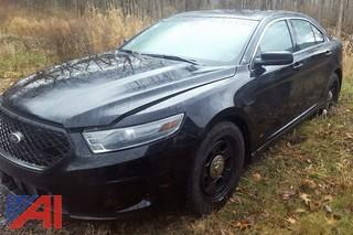 2013 Ford Taurus/Police Interceptor 4DSD