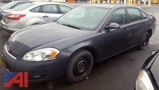 2008 Chevrolet Impala/Police Sedan 4DSD