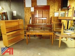 Wood Shelves and Tables
