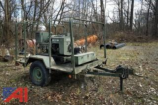 MEP002A 5kW Military Generator & Trailer