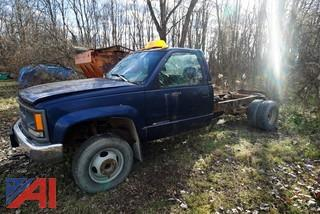 1996 Chevy 3500 Cheyenne Cab & Chassis
