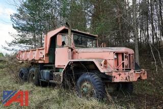 1968 Kaiser M817 6x6 Military Dump Truck