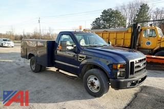 2010 Ford F350 XL SD Utility Truck