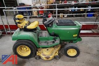 "2000 John Deere #345 Garden Tractor with Piranha 44"" Cutting Deck"