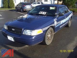 2011 Ford Crown Victoria Police Sedan
