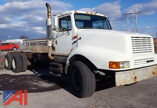 2002 International 2674 6x4 Cab & Chassis