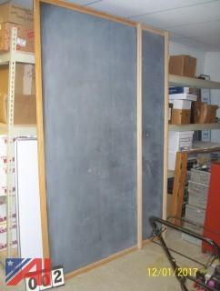 (2) 4'x 8' Chalk Boards