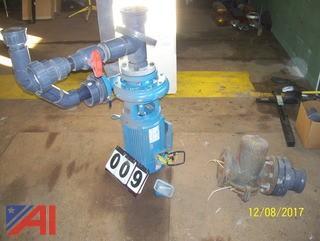 Fountain Motor Lights Pump