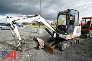 Bobcat X331 Mini Crawler Excavator with Attachments