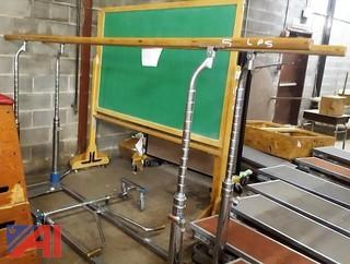 Nissen Parallel Bars & Dolly