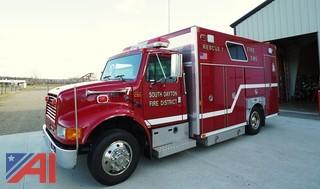1999 International 4700 E-One Rescue/Utility Truck