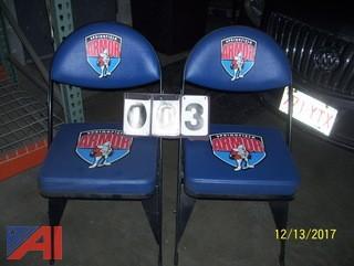 (2) Folding Chairs