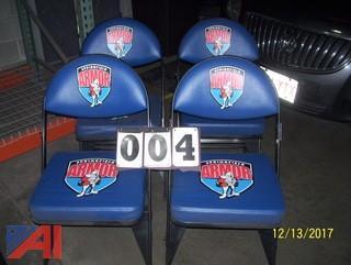 (4) Folding Chairs