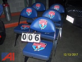 (5) Folding Chairs