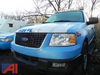 2005 Ford Expedition SUV/Police Vehicle