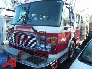 2005 American LaFrance Eagle Fire Truck