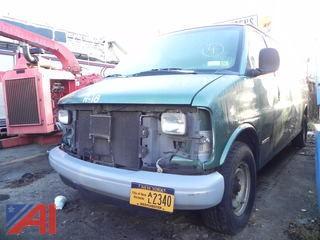 1999 Chevy Express 3500 Van