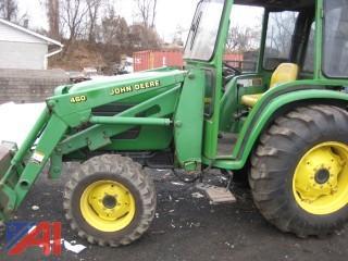 2000 John Deere 460 Tractor