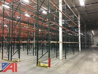 10 Sections of Ridge-U-Rack Pallet Racking